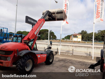 TELESCOPICA MANITOU MLT 627 TURBO COMPACT